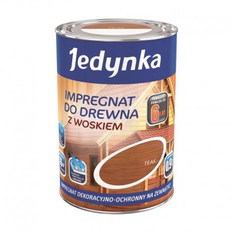 Puszka 0,9 litra z Jedynka Impregnat do drewna z woskiem