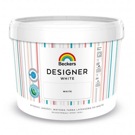 Opakowanie 10 litrów z farbą Beckers Designer White