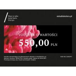 Voucher Promocyjny 550