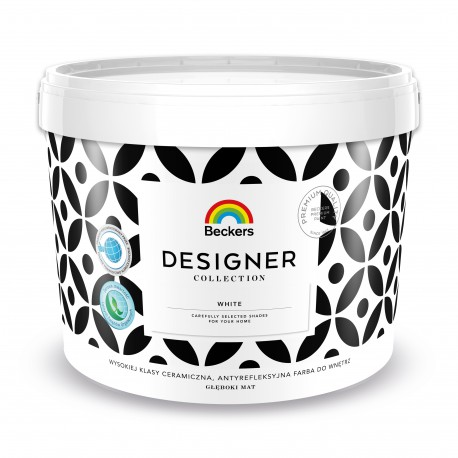 Beckers Designer Collection White (2,5 litra)