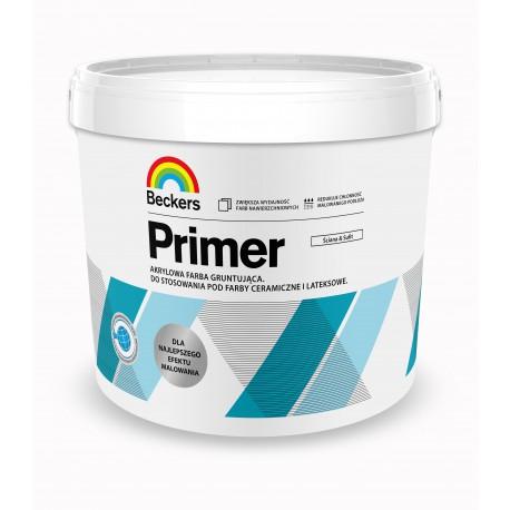 Opakowanie 3 litry farby gruntujacej Beckers Designer Primer