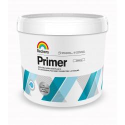 Opakowanie 10 litrów z farbą gruntującą Beckers Designer Primer