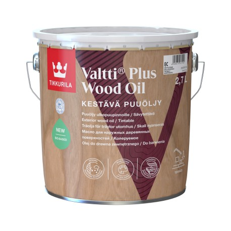 Puszka 2,7 litra z olejem Tikkurila VALTTI Wood Oil Akva