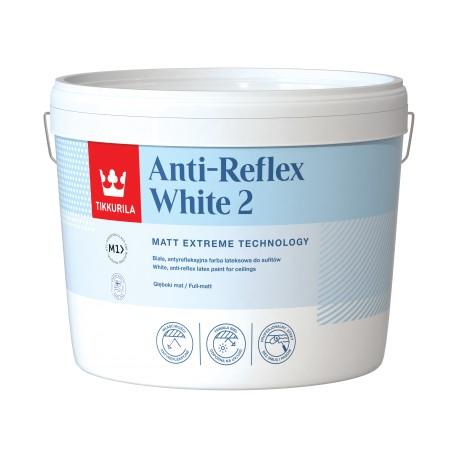 Puszka 10 litrów z farbą Tikkurila Anti-Reflex white