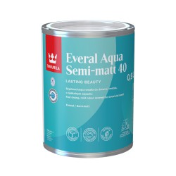 Emalia Tikkurila Everal Aqua Semi Matt (0,9 litra)