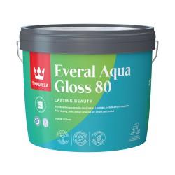 Puszka 2,7 litra z farbą Tikkurila Everal Aqua Gloss 80