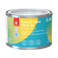 Puszka z emalią Tikkurila Everal Aqua Matt (0,45 litra)