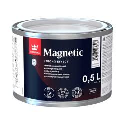 Opakowanie 0,5 litra z magnetyczną farbą Tikkurila Magnetic